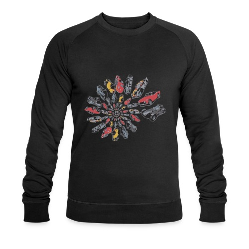 Car Swirl - Men's Organic Sweatshirt by Stanley & Stella