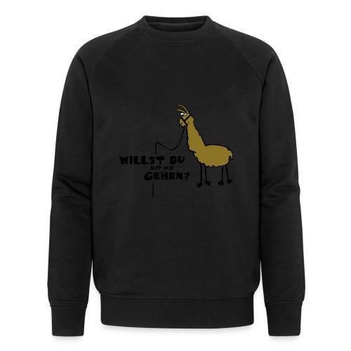 Willst du - Männer Bio-Sweatshirt von Stanley & Stella