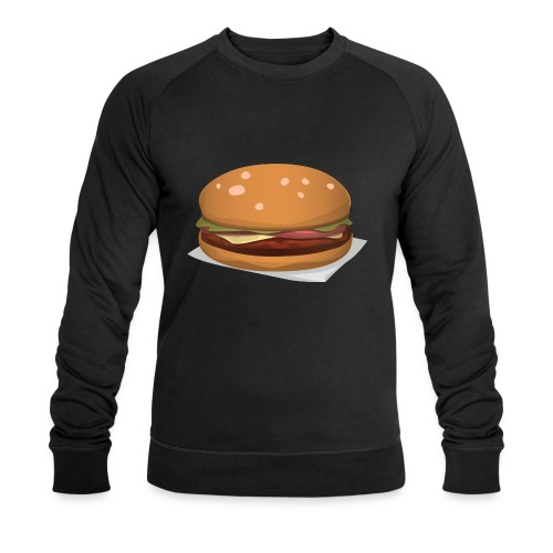 hamburger-576419 - Felpa ecologica da uomo di Stanley & Stella