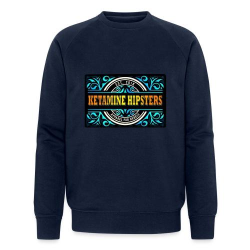 Black Vintage - KETAMINE HIPSTERS Apparel - Men's Organic Sweatshirt by Stanley & Stella