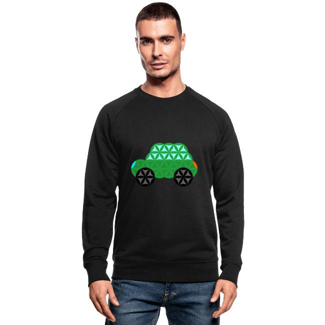 The Car Of Life - M01, Sacred Shapes, Green/363