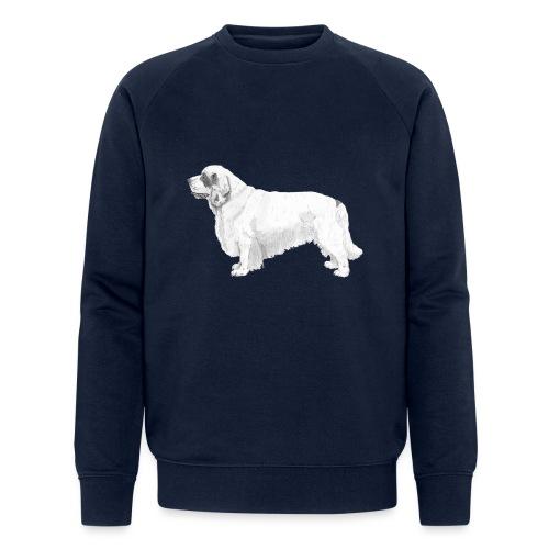 clumber spaniel - Økologisk Stanley & Stella sweatshirt til herrer