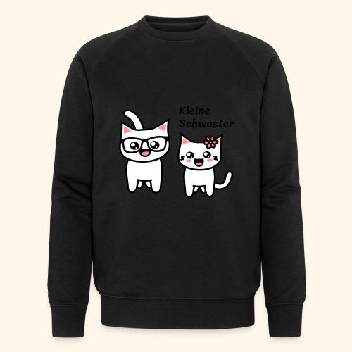 Kleine Schwester - Männer Bio-Sweatshirt von Stanley & Stella