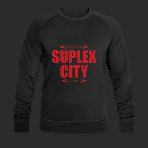 Suplex City Mens T-Shirt - Men's Organic Sweatshirt by Stanley & Stella