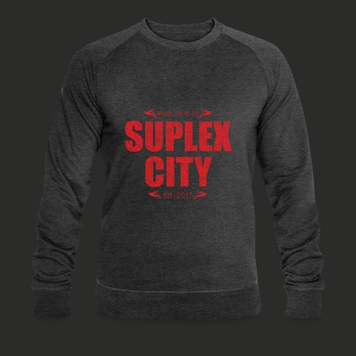 Suplex City Mens T-Shirt - Men's Organic Sweatshirt by Stanley & Stella
