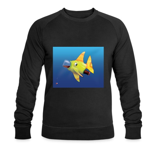 Greedy Fish - Sweat-shirt bio Stanley & Stella Homme