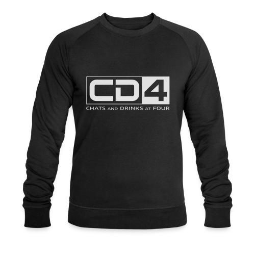 cd4 logo dikker kader bold font - Mannen bio sweatshirt