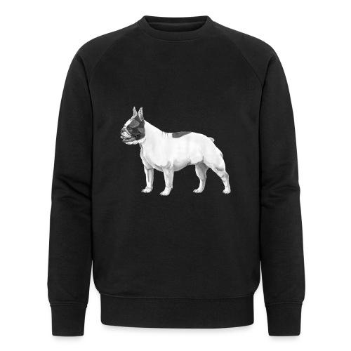 French Bulldog - Økologisk Stanley & Stella sweatshirt til herrer