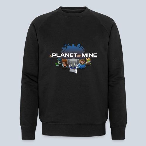 logo planetofmine dark HD - Sweat-shirt bio Stanley & Stella Homme