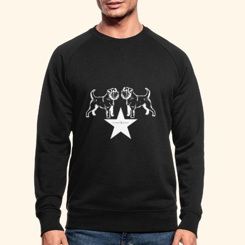 Brussels Griffon star - Sweat-shirt bio