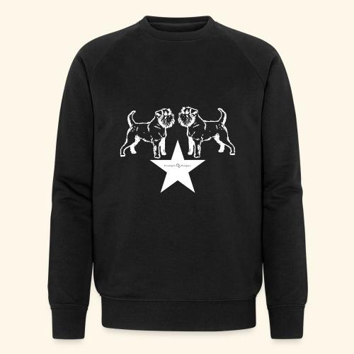 Brussels Griffon star - Sweat-shirt bio Stanley & Stella Homme