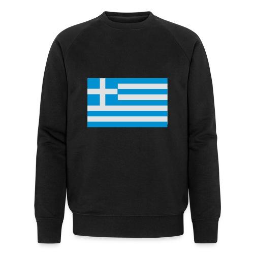 griechenland - Männer Bio-Sweatshirt