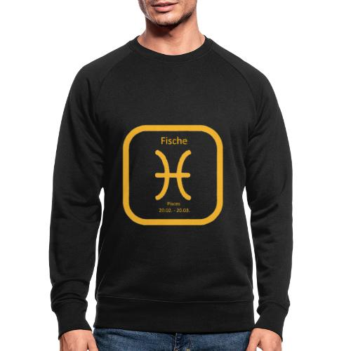 Horoskop Fische12 - Männer Bio-Sweatshirt von Stanley & Stella