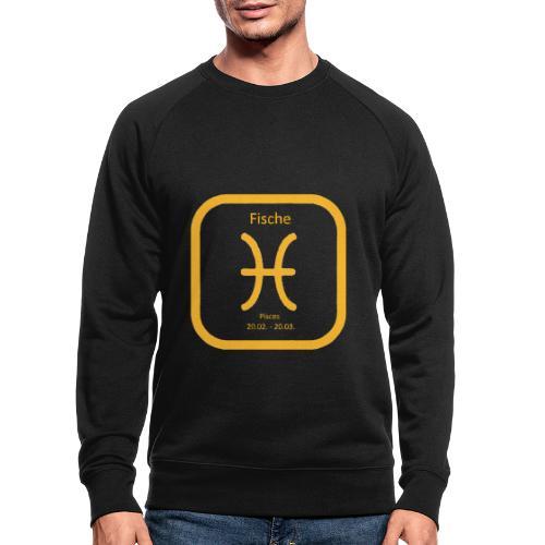 Horoskop Fische12 - Männer Bio-Sweatshirt