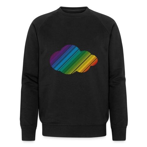 Regnbågsmoln - Ekologisk sweatshirt herr från Stanley & Stella