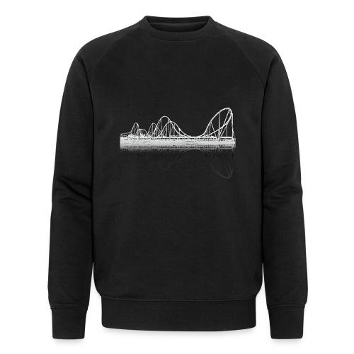 silverstar_weiss - Männer Bio-Sweatshirt