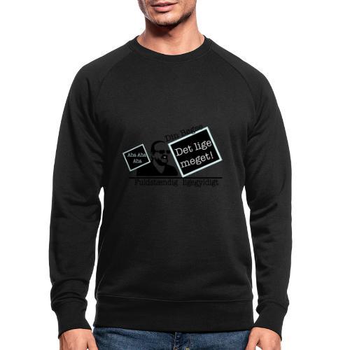 jeppe k epic wall of fame - Økologisk sweatshirt til herrer