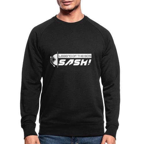 DJ SASH! Turntable Logo - Men's Organic Sweatshirt