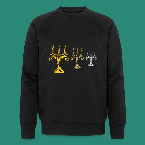 edles Kerzenlicht - Männer Bio-Sweatshirt von Stanley & Stella