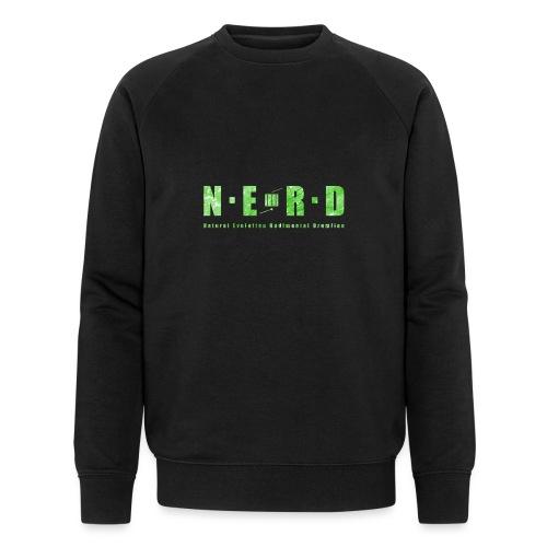 NERD Green - Økologisk sweatshirt til herrer