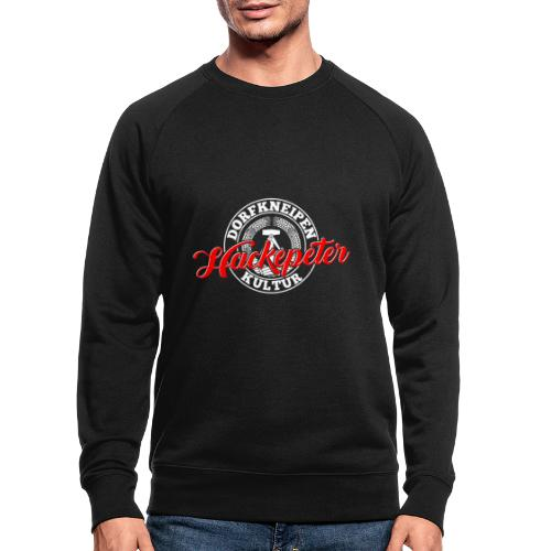 Hackepeter - Männer Bio-Sweatshirt