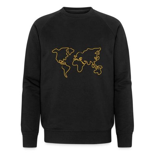 Wereldkaart - Mannen bio sweatshirt van Stanley & Stella