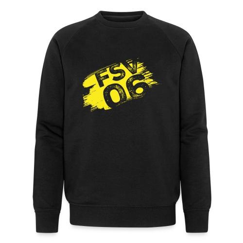 Hildburghausen FSV 06 Graffiti gelb - Männer Bio-Sweatshirt von Stanley & Stella
