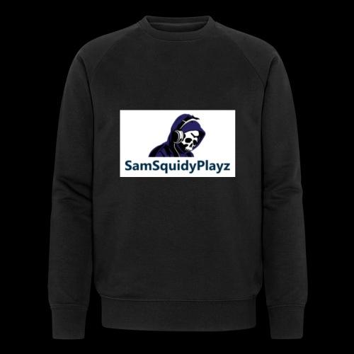 SamSquidyplayz skeleton - Men's Organic Sweatshirt by Stanley & Stella