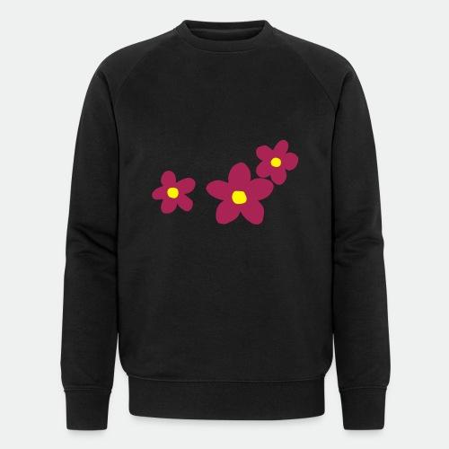 Three Flowers - Men's Organic Sweatshirt