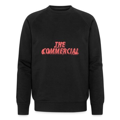 The Commercial Design #1 (Salmon - Men's Organic Sweatshirt by Stanley & Stella
