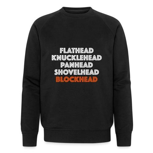 Blockhead 2C - Mannen bio sweatshirt van Stanley & Stella