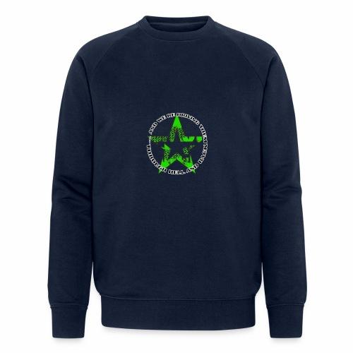 ra star slogan slime png - Männer Bio-Sweatshirt