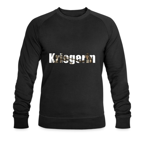 kriegerin - Männer Bio-Sweatshirt