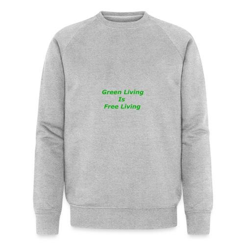 Green Living - Økologisk sweatshirt til herrer