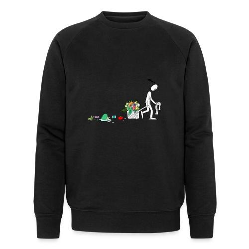 frukt og grønt handleveske - Økologisk sweatshirt for menn