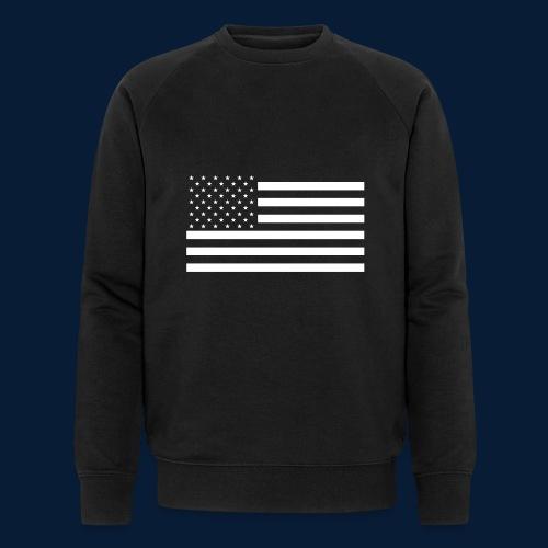 Stars and Stripes White - Männer Bio-Sweatshirt von Stanley & Stella