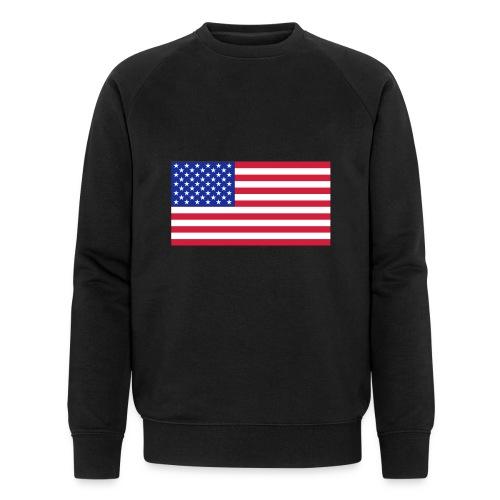 USA / United States - Mannen bio sweatshirt van Stanley & Stella