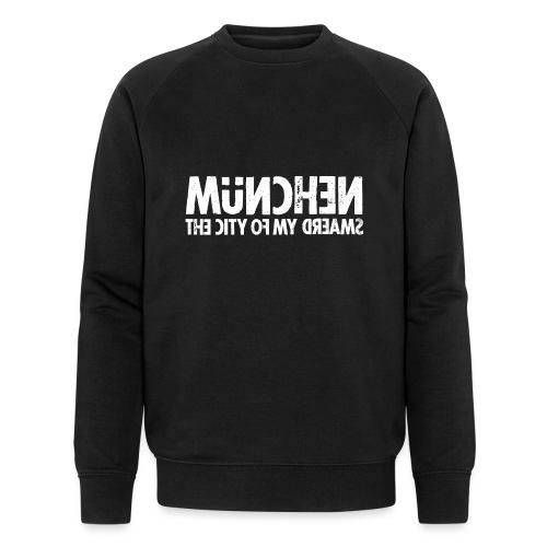 München (white oldstyle) - Männer Bio-Sweatshirt von Stanley & Stella