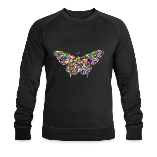 Geflogener Schmetterling - Männer Bio-Sweatshirt von Stanley & Stella