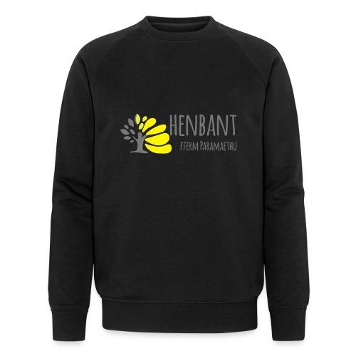 henbant logo - Men's Organic Sweatshirt