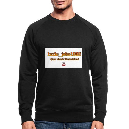 quer durch deutschland - Männer Bio-Sweatshirt