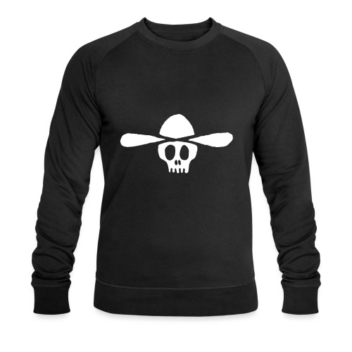 Totenkopf Kauboi - Männer Bio-Sweatshirt von Stanley & Stella