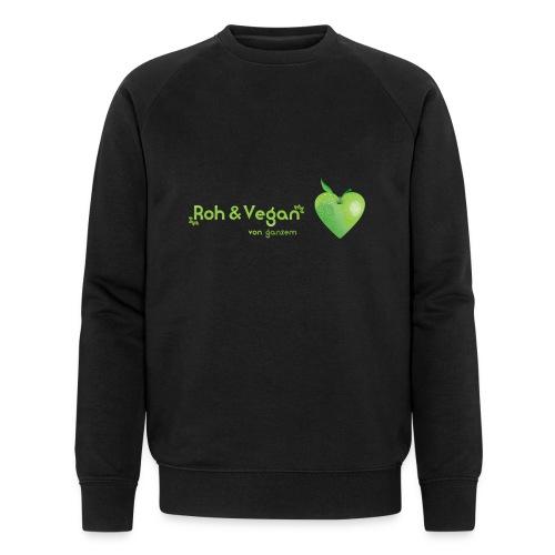 Roh & Vegan grünes Apfelherz (Rohkost) - Männer Bio-Sweatshirt von Stanley & Stella
