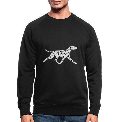 Dalmatiner - Männer Bio-Sweatshirt
