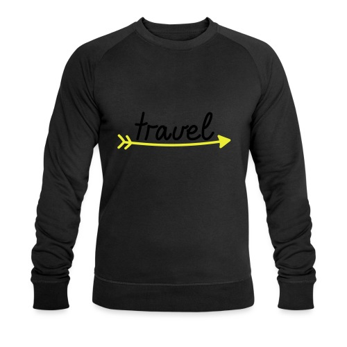 Travel - Männer Bio-Sweatshirt