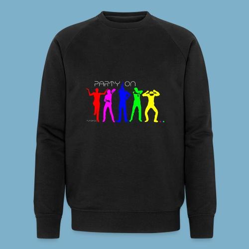 Party On - Männer Bio-Sweatshirt von Stanley & Stella