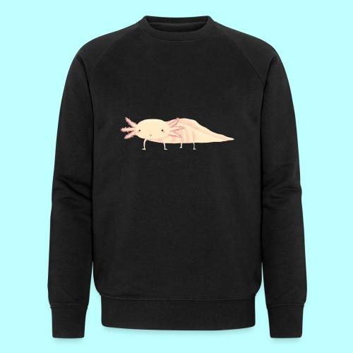 Axolotl - Männer Bio-Sweatshirt