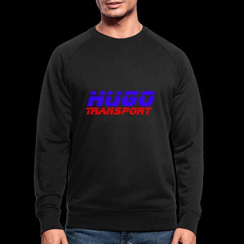hugotransportfullrestransparent - Mannen bio sweatshirt
