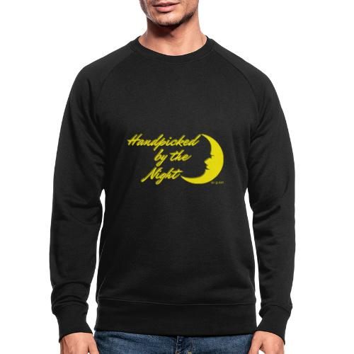 Handpicked design By The Night - Logo Yellow - Men's Organic Sweatshirt