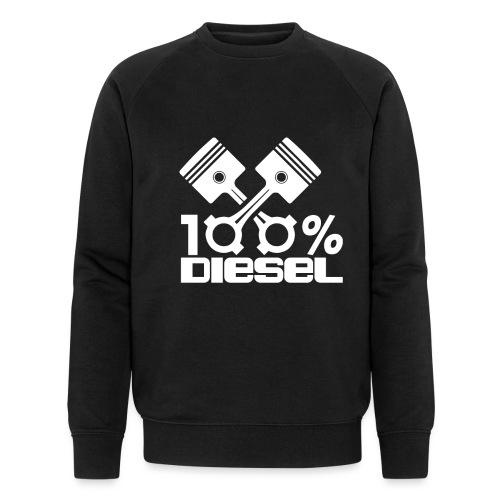 100% Diesel I Dieselholics - Männer Bio-Sweatshirt